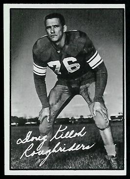 Doug Killoh 1961 Topps CFL football card
