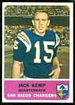 1962 Fleer Jack Kemp