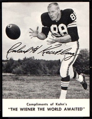 Rich Kreitling 1962 Kahns football card