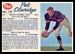 1962 Post CFL Pat Claridge