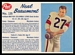 1962 Post CFL Neal Beaumont