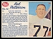 1962 Post CFL Hal Patterson
