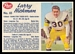1962 Post CFL Larry Hickman