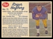 1962 Post CFL Roger Hagberg
