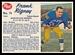 1962 Post CFL Frank Rigney