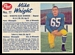 1962 Post CFL Mike Wright