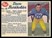 1962 Post CFL Dave Burkholder