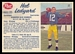1962 Post CFL Hal Ledyard