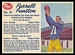 1962 Post CFL Farrell Funston