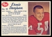 1962 Post CFL Ernie Danjean