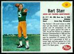 1962 Post Cereal Bart Starr