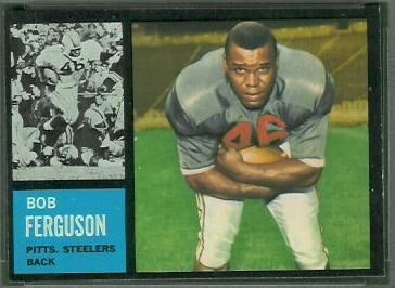 Bob Ferguson 1962 Topps football card