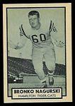 1962 Topps CFL Bronko Nagurski Jr.