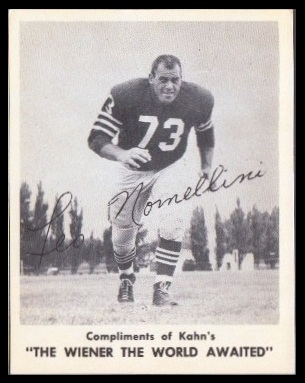 Leo Nomellini 1963 Kahns football card