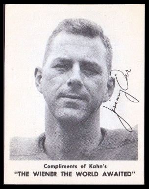 Jimmy Orr 1963 Kahns football card