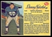 1963 Post CFL Danny Nykoluk