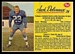 1963 Post CFL Jack Delveaux