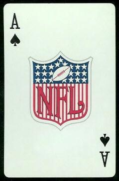 NFL Logo 1963 Stancraft football card
