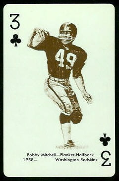 Bobby Mitchell 1963 Stancraft football card