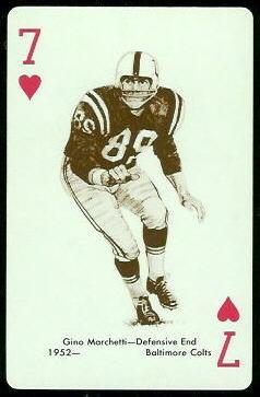 Gino Marchetti 1963 Stancraft football card