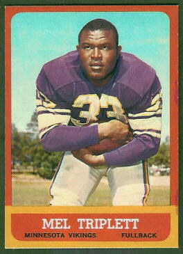Mel Triplett 1963 Topps football card
