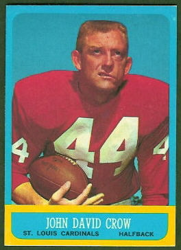 John David Crow 1963 Topps football card