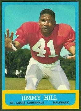 Jimmy Hill 1963 Topps football card
