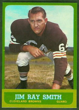 Jim Ray Smith 1963 Topps football card