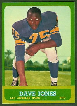 Deacon Jones 1963 Topps football card