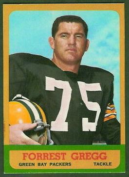 Forrest Gregg 1963 Topps football card