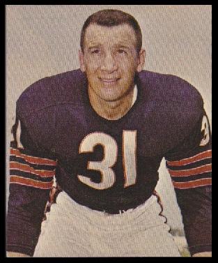 Joe Fortunato 1964 Kahns football card