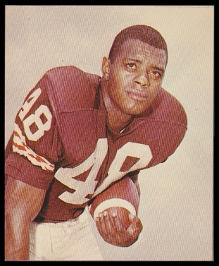Ernie Green 1964 Kahns football card