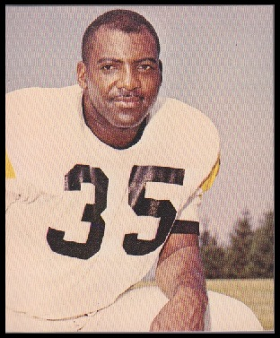 John Henry Johnson 1964 Kahns football card