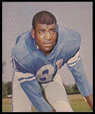Dick Lane 1964 Kahns football card