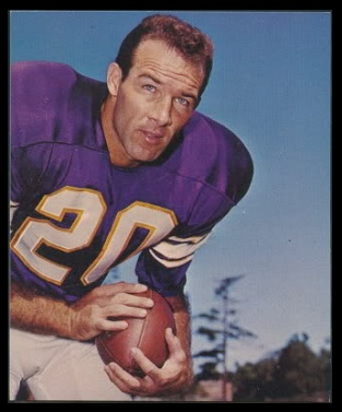 Tommy Mason 1964 Kahns football card