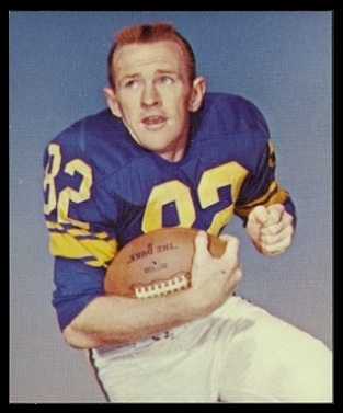 Jim Phillips 1964 Kahns football card