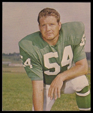 Jim Ringo 1964 Kahns football card