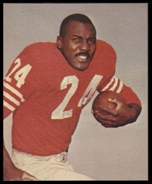 J.D. Smith 1964 Kahns football card