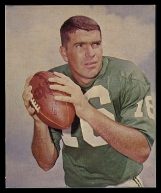 Norm Snead 1964 Kahns football card