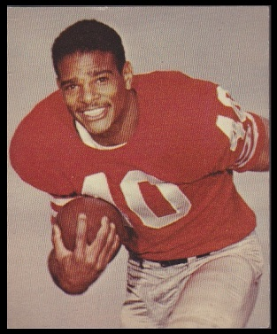 Abe Woodson 1964 Kahns football card