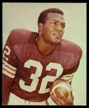 Jim Brown 1964 Kahns football card