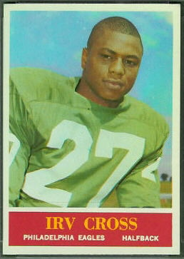 Irv Cross 1964 Philadelphia football card