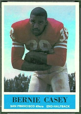 Bernie Casey 1964 Philadelphia football card