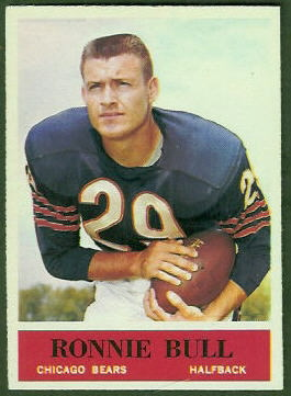 Ron Bull 1964 Philadelphia football card