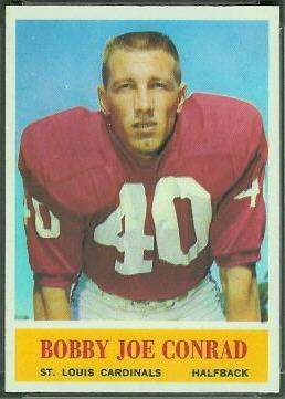 Bobby Joe Conrad 1964 Philadelphia football card