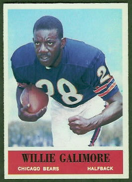 Willie Galimore 1964 Philadelphia football card