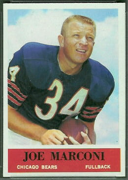 Joe Marconi 1964 Philadelphia football card