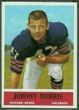 Johnny Morris 1964 Philadelphia football card