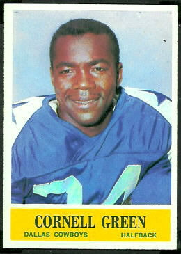 Cornell Green 1964 Philadelphia football card