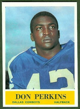 Don Perkins 1964 Philadelphia football card